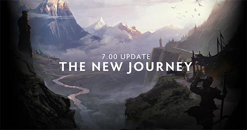 Dota 2大型アップデート「7.00 UPDATE THE NEW JOURNEY」が2016年12月12日にリリース