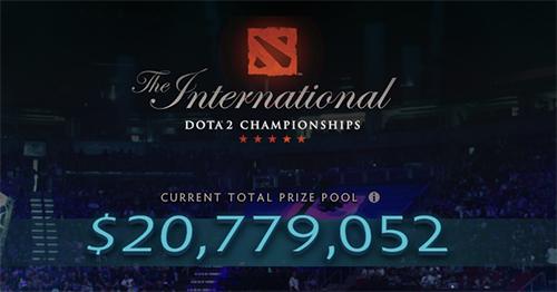 Dota 2世界大会『The International 2017』の賞金総額がeスポーツ史上最高記録を更新(約23.5億円)