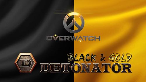 DeToNator Overwatch部門が「GOLD」「BLACK」の2チーム体制に、2017年3月より台湾でブートキャンプを実施