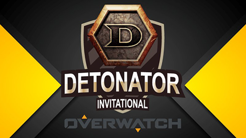 プロゲームチームDeToNator主催の招待制Overwatch大会『DETONATOR INVITATIONAL』が3/20(月・祝)に開催