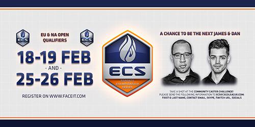 CS:GO『Esports Championship Series (ECS) Season 3』の開催発表、アメリカ・ヨーロパ予選が今週末より開始