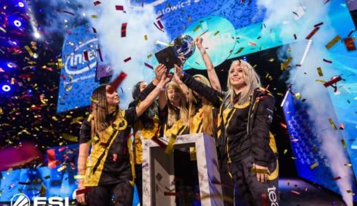 CS:GO女性チーム最強決定戦『Intel Challenge Katowice 2018』でTeam Dignitasが優勝