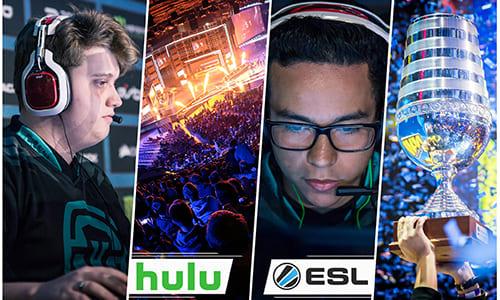 『ESL』プロデュースのオリジナルeスポーツ番組が2017年秋より『Hulu』で独占配信