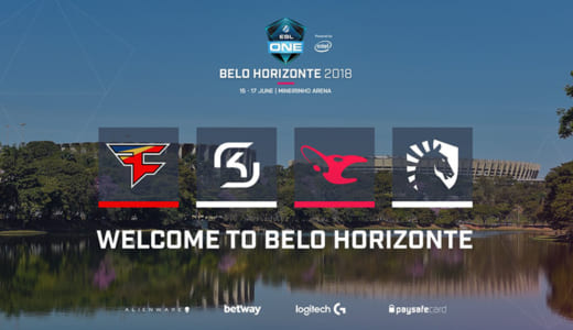 CS:GO『ESL One Belo Horizonte 2018』にFaZe、SK、Mouz、Liquidが招待出場決定