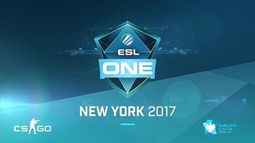 『ESL One New York 2017』が2017年9月16日、17日に開催、競技ゲームにCS:GO採用決定