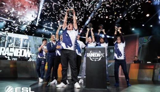 世界大会『Rainbow Six Pro League Season 7』でTeam Liquidが優勝、日本「野良連合」はベスト8に