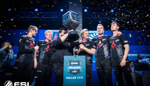 CS:GO『ESL Pro League Season 7 Finals』でAstralisが優勝