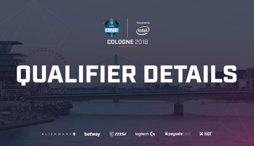 賞金総額30万ドルのCS:GO大会『ESL One Cologne 2018』の予選情報発表、アジアのオープン予選あり