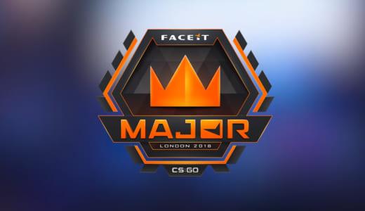 『FACEIT』が賞金総額100万ドルのCS:GOメジャー大会『FACEIT Major: London 2018』を2018年9月20~23日にロンドンで開催