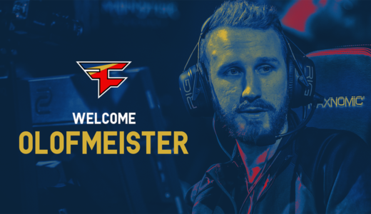 FaZe ClanがFnaticのOlofmeisterを正式獲得、kioShiMaに代わりラインナップ入り