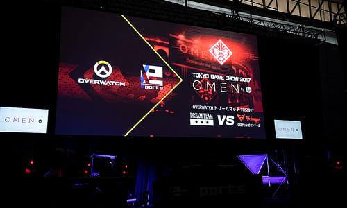 東京ゲームショウ2017『OMEN by HP presents Overwatchドリームマッチ』開催、ドリームチームと7th heavenが500人近い観客の前で激突