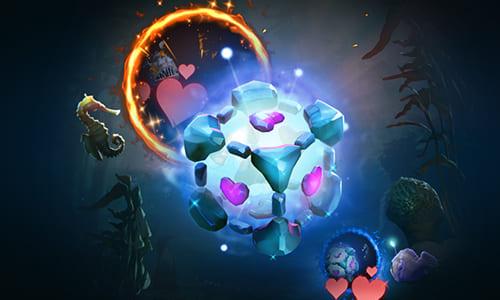 『Dota 2』に待望の「IO」用Arcanaレアリティスキンが登場、まさかの「Portal」コンパニオンキューブ風デザインを採用