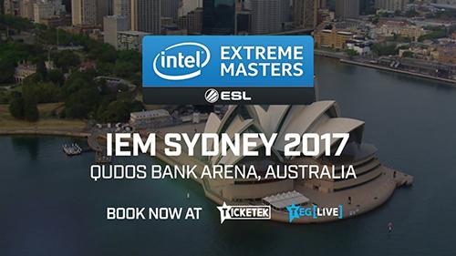 CS:GO大会『IEM Sydney 2017』のスケジュール発表、2017年5月3日~7日にオーストラリアで開催