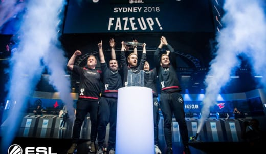 CS:GO『IEM Sydney 2018』でFaZe Clanが優勝、Astralisに3-0で勝利