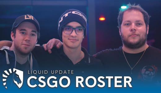 TACOがTeam Liquid CS:GO部門に加入、steelに代わりスターティングメンバー入り
