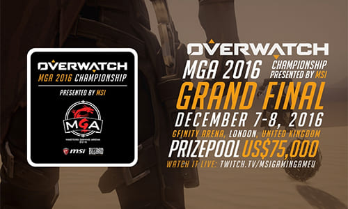 『Overwatch MGA 2016 Championship』ファイナル進出4チームが決定