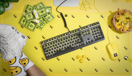 ゲーミングデバイスブランド『Mionix』からデザイン重視のカラフルなデスクパッドが登場