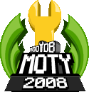 『2008 Mod of the Year Awards』の結果発表