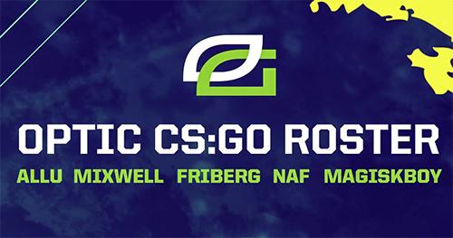 『OpTic Gaming』CS:GO部門にFriberg、Allu、Magiskが加入