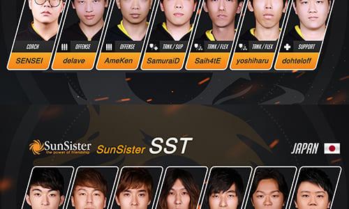 4/8(土)より台湾で開幕『Overwatch Pacific Championship』の試合スケジュール発表、日本からDeToNatorとSunSisterが参戦