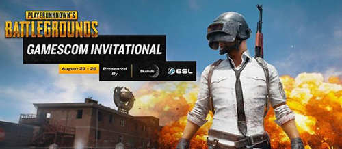 賞金総額35万ドルの『PLAYERUNKNOWN'S BATTLEGROUNDS Invitational』が「Gamescom」で開催