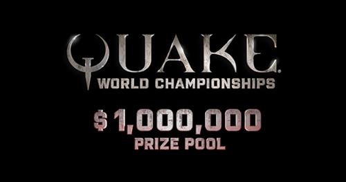 賞金総額100万ドル『Quake World Champions』オンライン予選#3の通過選手が決定