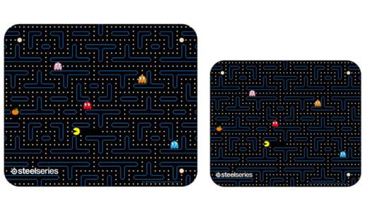 『SteelSeries』が日本限定「パックマン」モデルのゲーミングマウスパッドを『QcK・QcK Mini Pac-Man Edition』を2018年6月7日(月)に発売