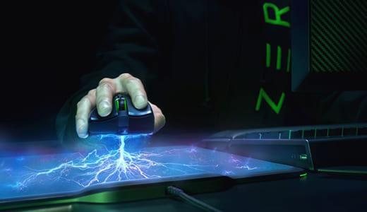 『Razer』が96グラムのバッテリーレス軽量ワイヤレスゲーミングマウス『Mamba HyperFlux』発表、マウスパッドからの常時給電に対応