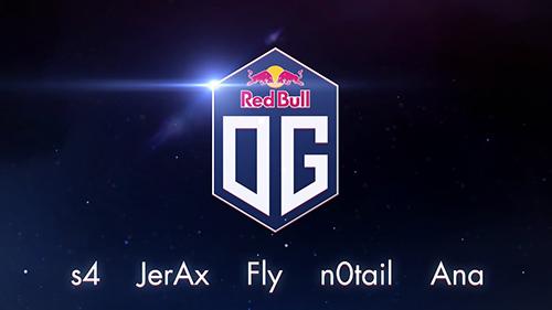 Dota 2メジャー大会を4度制したプロチーム「OG」が「Red Bull」とスポンサー契約を締結