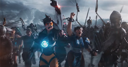 『Overwatch』のヒーロー「トレーサー」も登場、映画『レディ・プレイヤー1(Ready Player One』の最新映像公開