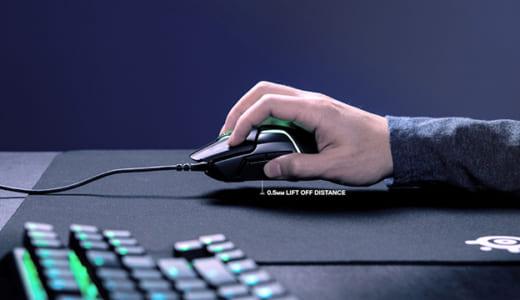 『SteelSeries』がデュアルセンサー方式のゲーミングマウス『Rival 600』を発表、最小0.5ミリのリフトオフディスタンスを実現