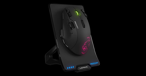『ROCCAT』初となる有線・無線切り替え式ゲーミングマウス『ROCCAT Leadr』発表、最新の『Owl-Eye』センサー(PixArt 3361)を搭載