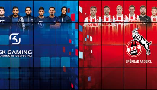 『SK Gaming』がプロサッカーチーム『FCケルン』と戦略的パートナーシップ契約を締結