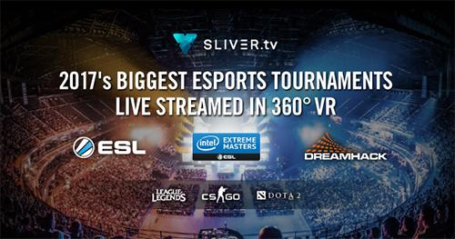 VRプラットフォーム『SLIVER.tv』が『ESL』や『DreamHack』と提携、eスポーツ向けの360度VRライブストリーミングを提供