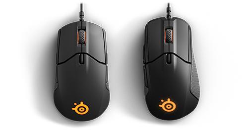 SteelSeriesが新型マウス「Sensei 310」「Rival 310」を発表、PixArtと共同開発のeスポーツ向けセンサーを独占搭載