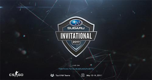 自動車メーカー「スバル・アメリカ」主催のCS:GO大会『Subaru Invitational』が5/14(日)1時よりスタート