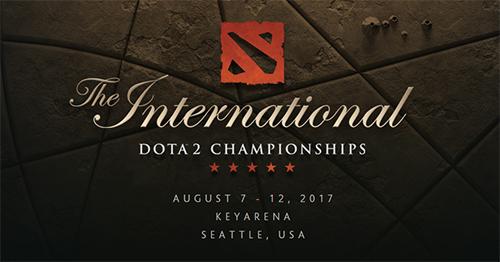 Dota 2公式世界大会『The International 2017』メインイベントDay4(ベスト8、オールスター)が8/11(金)2時開始予定