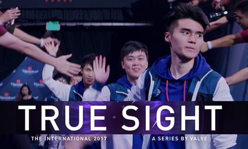 Dota 2公式世界大会決勝戦のドキュメンタリムービー『True Sight : The International 2017 Finals』公開