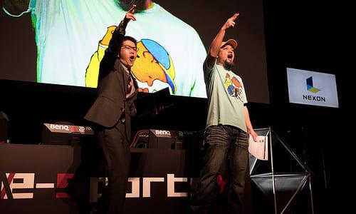 TGS2017『カウンターストライクオンライン2』エキシビションマッチでDetonatioN Gamingとnoppo選抜チームが対戦、CSプレーヤーのラッパーUZI氏が解説で登場