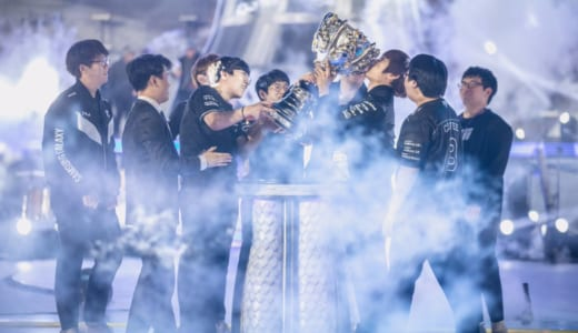 LoL世界大会『2017 World Championship』決勝でSamsung Galaxyが王者SK telecom T1を3-0で下し優勝