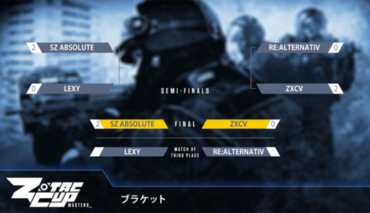CS:GO『ZOTAC CUP MASTERS CS:GO 2018』日本予選でSZ.Absoluteが全勝優勝、台湾で6月開催のアジア代表決定戦に出場決定