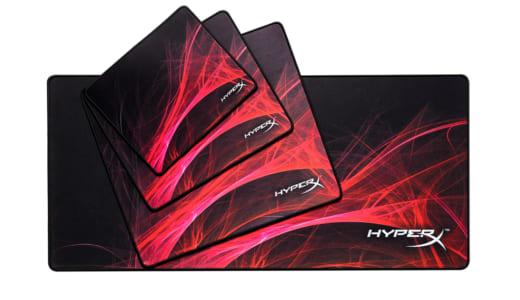 『HyperX』が布系ゲーミングマウスパッド『Fury S Speed Edition Pro』を発売開始