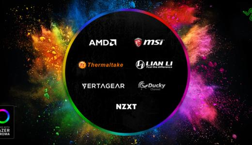 『Razer』が自慢のゲーミングデバイス発光システム『Chroma』や独自メカニカルキースイッチをサードパーティに提供へ