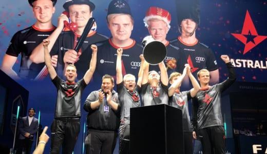 CS:GO『ECS Season 5 Finals』で世界ランキング1位 Astralisが貫禄の優勝