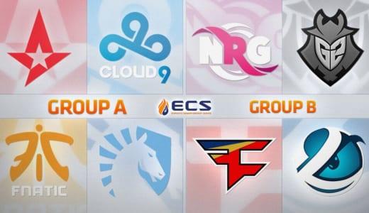 CS:GO『ECS Season 5 Finals』が2018年6月8日(金)21:15より開幕予定
