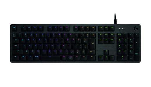 ロジクールのゲーミングキーボード『G512』に「GX Blue Clicky」キースイッチ採用モデルが登場、2018年7月5日(木)より発売開始
