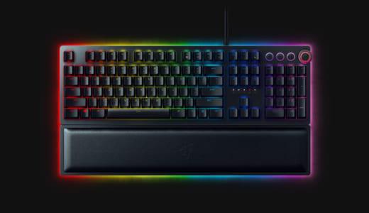 『Razer』が新開発オプトメカニカルスイッチ採用のフラグシップゲーミングキーボード『Razer Huntsman』を発表