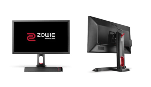 『BenQ ZOWIE』より27型144Hz駆動のゲーミングモニタ『XL2720』が登場、2018年6月29日(金)より発売