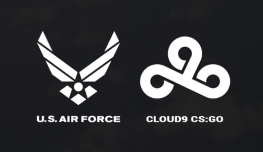『Cloud9』CS:GO部門がアメリカ空軍とスポンサー契約、過去には空軍予備役軍団がLoL部門をスポンサード