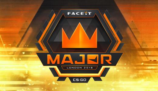 CS:GO最高峰のメジャー大会『FACEIT Major: London 2018』が2018年9月5日(水)18時より開幕